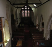 photo showing the church nave