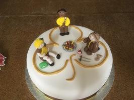 Handmade Brownie cake