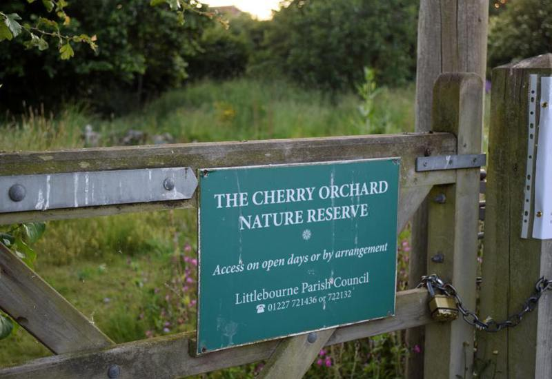 Nature Reserves gate & notice