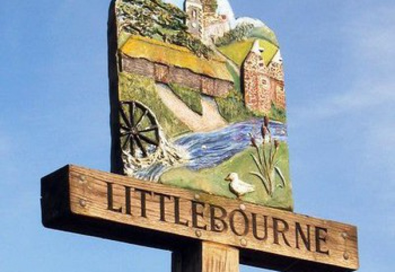 Littlebourne Entrance signs