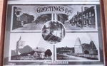 Postcard showing several views of Littlebourne